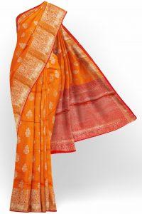 sri_kumaran_stores_banaras_silk_saree_orange_saree_with_golden_colour_border-1.jpg