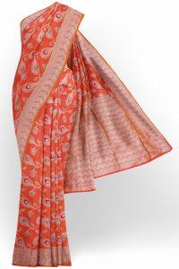 sri_kumaran_stores_banaras_silk_saree_orange_saree_with_white_border-1.jpg