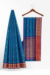 sri_kumaran_stores_cotton_saree_blue_saree_with_purple_border_1-2.jpg