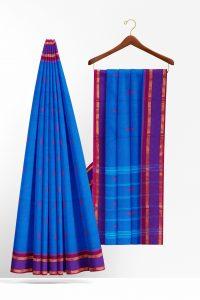 sri_kumaran_stores_cotton_saree_blue_saree_with_purple_border_2-2.jpg