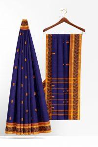 sri_kumaran_stores_cotton_saree_dark_blue_saree_with_yellow_border-2.jpg