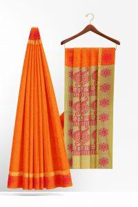sri_kumaran_stores_cotton_saree_orange_saree_with_orange_border-2.jpg