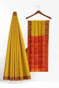 sri_kumaran_stores_cotton_saree_yellow_saree_with_brown_border-2.jpg