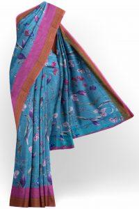 sri_kumaran_stores_linen_saree_blue_saree_with_pink_and_brown_border-1.jpg