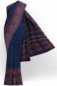 sri_kumaran_stores_linen_saree_dark_blue_saree_with_brown_border-1.jpg
