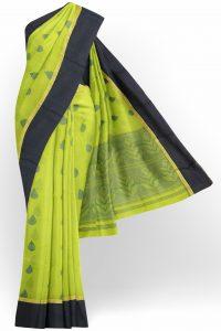 sri_kumaran_stores_silk_cotton_saree_parrot_green_saree_with_dark_green_border-1.jpg