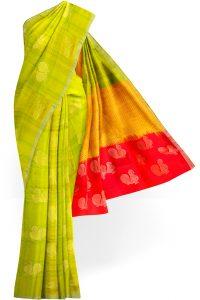 sri kumaran stores soft silk saree light green saree with light green border 1