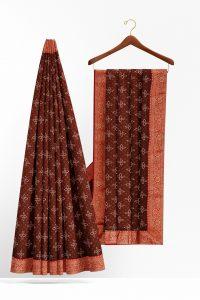 sri_kumaran_stores_synthetic_saree_brown_saree_with_red_golden_colour_border-2.jpg
