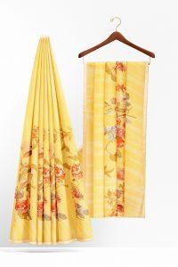 sri_kumaran_stores_synthetic_saree_yellow_saree_with_golden_colour_border-2.jpg