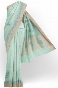sri_kumaran_stores_tissue_saree_light_green_saree_with_golden_colour_border-1.jpg