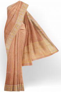 sri_kumaran_stores_tissue_saree_light_orange_saree_with_golden_colour_border-1.jpg