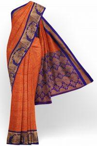 sri_kumaran_stores_tissue_saree_orange_saree_with_blue_border-1.jpg