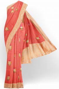sri_kumaran_stores_tissue_saree_orange_saree_with_golden_colour_border-1.jpg
